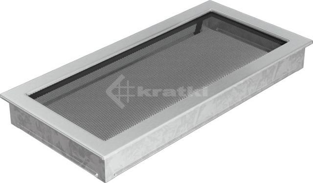 Решетка для камина Kratki 22х45 шлифованная. Фото 2