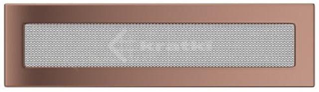 Решетка для камина Kratki 11х42 медь гальваническая