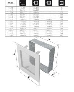 Решетка для камина Kratki 17х17 медь гальваническая. Фото 3