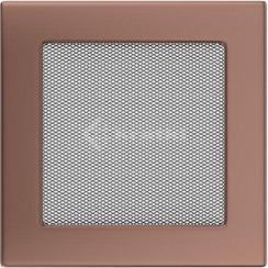 Решетка для камина Kratki 17х17 медь гальваническая