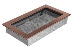 Решетка для камина Kratki 17х30 медь гальваническая. Фото 2