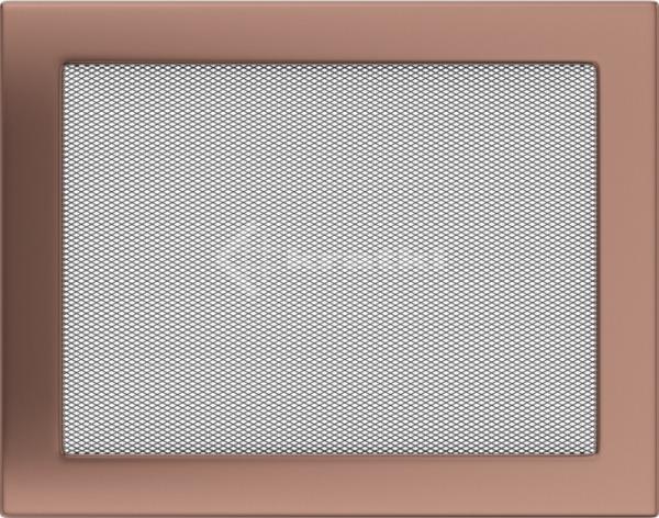 Решетка для камина Kratki 22х30 медь гальваническая