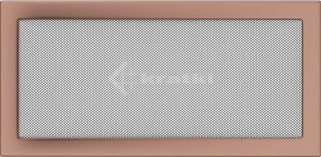 Решетка для камина Kratki 22х45 медь гальваническая
