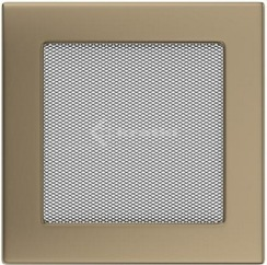 Решетка для камина Kratki 17х17 золото гальваническое