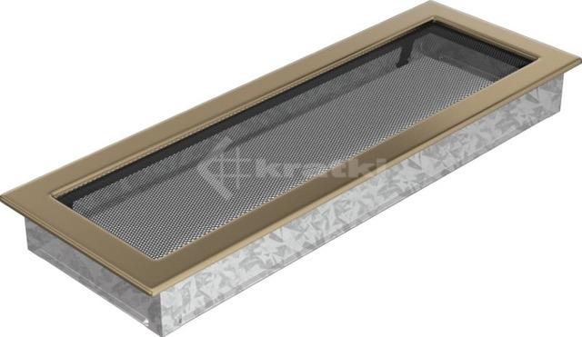 Решетка для камина Kratki 17х49 золото гальваническое. Фото 2