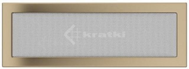 Решетка для камина Kratki 17х49 золото гальваническое