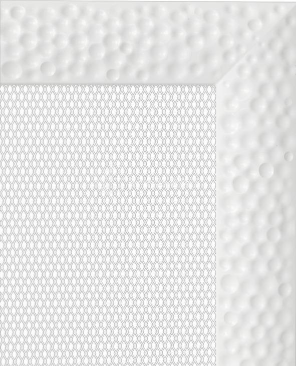 Решетка для камина Kratki Venus 11x11 белая