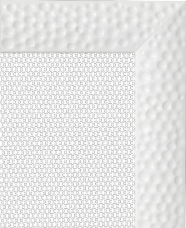 Решетка для камина Kratki Venus 11х24 белая