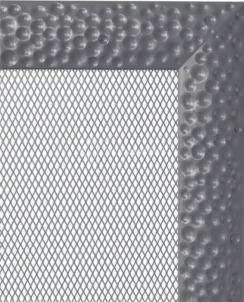 Решетка для камина Kratki Venus 22х45 графитовая
