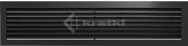 Решетка для камина Kratki Fresh 17х70 графитовая