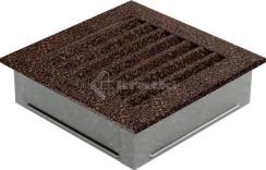 Решетка для камина Kratki Fresh 17х70 графитовая. Фото 3