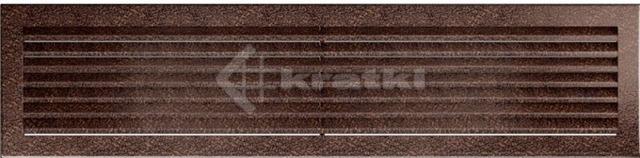 Решетка для камина Kratki Fresh 17х70 медная