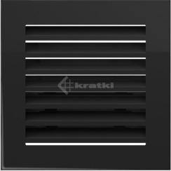 Решетка для камина Kratki Fresh 17х17 черная