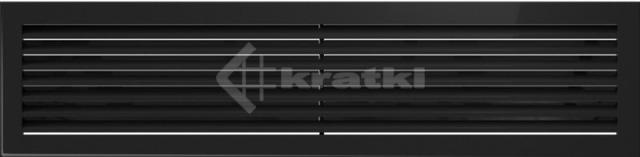 Решетка для камина Kratki Fresh 17х70 черная