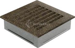 Решетка для камина Kratki Fresh 17х70 черная. Фото 3
