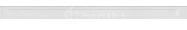 Решетка для камина Kratki Luft 45S 6x100 белая