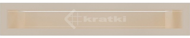Решетка для камина Kratki Luft 45S 6x40 кремовая