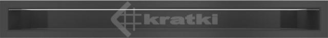 Решетка для камина Kratki Luft 45S 6x60 черная