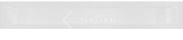 Решетка для камина Kratki Luft 45S 9x60 белая