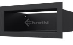 Решетка для камина Kratki Luft 45S 9x20 черная. Фото 2