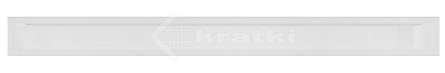 Решетка для камина Kratki Luft 45SF 9x100 белая