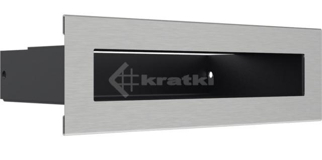 Решетка для камина Kratki Luft 45SF 6x20 шлифованная. Фото 3