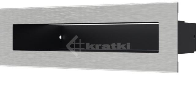 Решетка для камина Kratki Luft 45SF 6x20 шлифованная. Фото 2