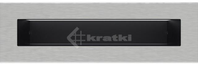 Решетка для камина Kratki Luft 45SF 6x20 шлифованная