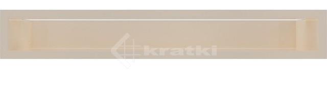Решетка для камина Kratki Luft 45SF 9x60 кремовая