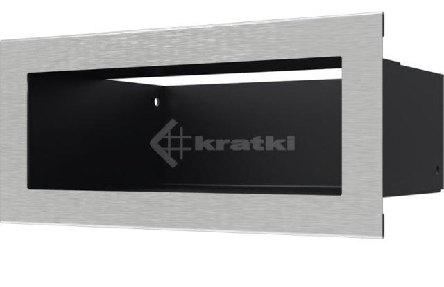 Решетка для камина Kratki Luft 45SF 9x20 шлифованная. Фото 2