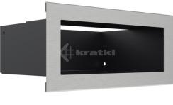 Решетка для камина Kratki Luft 45SF 9x20 шлифованная. Фото 3
