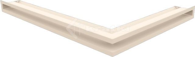 Решетка для камина Kratki Luft 45S NL 76,6x54,7x6 кремовая (LUFT/NL/60/45S/K)