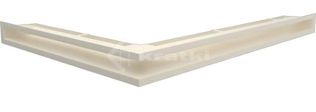 Решетка для камина Kratki Luft 45S NP 54,7x76,6x6 кремовая (LUFT/NP/60/45S/K)