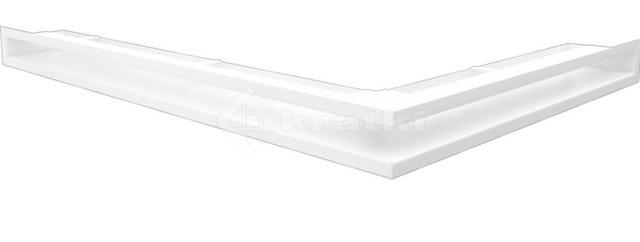 Решетка для камина Kratki Luft 45S NL 76,6x54,7x6 белая (LUFT/NL/60/45S/B)