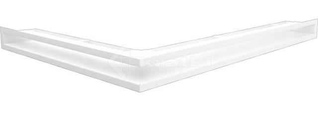 Решетка для камина Kratki Luft 45S NP 54,7x76,6x6 белая (LUFT/NP/60/45S/B)