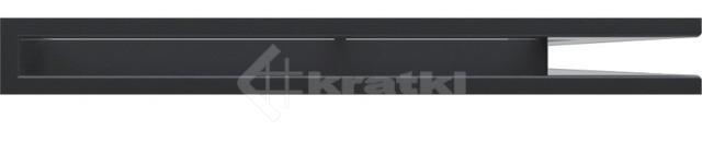 Решетка для камина Kratki Luft 45S NP 54,7x76,6x6 графитовая (LUFT/NP/60/45S/G). Фото 2