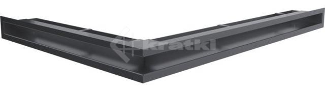 Решетка для камина Kratki Luft 45S NP 54,7x76,6x6 графитовая (LUFT/NP/60/45S/G)