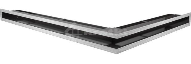 Решетка для камина Kratki Luft 45S NL 76,6x54,7x6 шлифованная (LUFT/NL/60/45S/SZ)