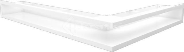 Решетка для камина Kratki Luft 45S NL 76,6x54,7x9 белая (LUFT/NL/90/45S/B)