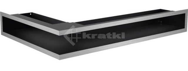 Решетка для камина Kratki Luft 45S NP 40x60x9 шлифованная (LUFT/NP/9/40/45S/SZ)