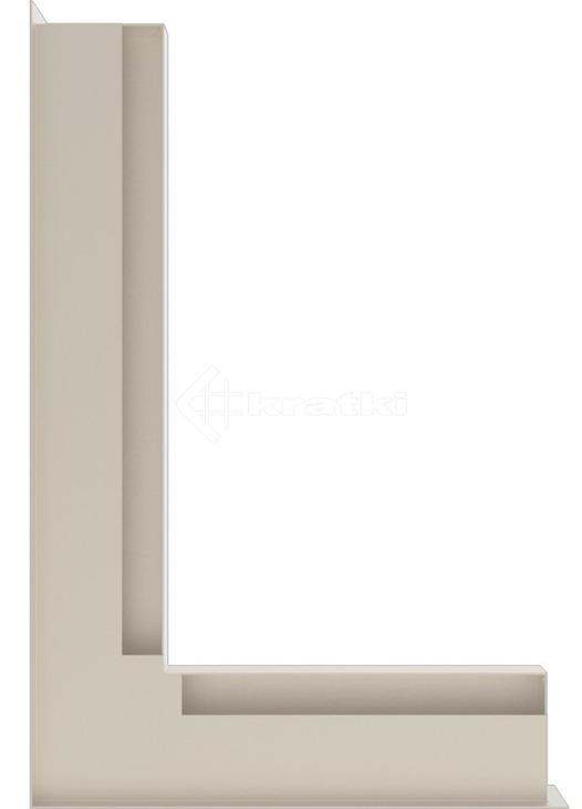 Решетка для камина Kratki Luft 45SF NL 60x40x6 кремовая (LUFT/NL/6/40/45S/K/SF). Фото 3