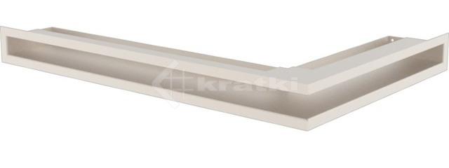 Решетка для камина Kratki Luft 45SF NL 60x40x6 кремовая (LUFT/NL/6/40/45S/K/SF)