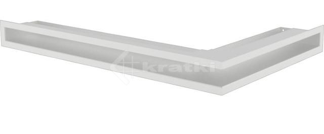 Решетка для камина Kratki Luft 45SF NL 60x40x6 белая (LUFT/NL/6/40/45S/B/SF)