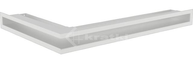 Решетка для камина Kratki Luft 45SF NP 40x60x6 белая (LUFT/NP/6/40/45S/B/SF)