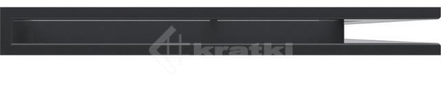 Решетка для камина Kratki Luft 45SF NP 54,7x76,6x6 графитовая (LUFT/NP/60/45S/G/SF). Фото 2