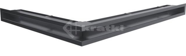 Решетка для камина Kratki Luft 45SF NP 54,7x76,6x6 графитовая (LUFT/NP/60/45S/G/SF)