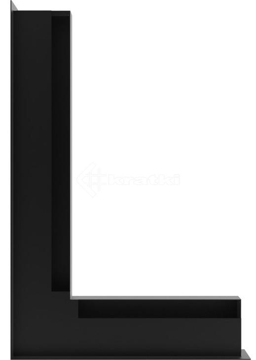 Решетка для камина Kratki Luft 45SF NL 60x40x6 черная (LUFT/NL/6/40/45S/C/SF). Фото 3