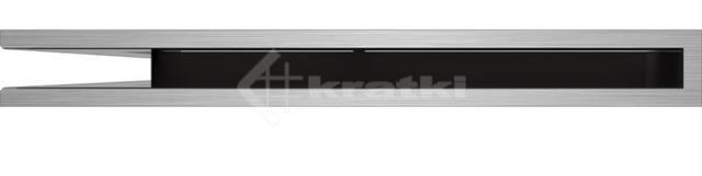 Решетка для камина Kratki Luft 45SF NL 76,6x54,7x6 шлифованная (LUFT/NL/60/45S/SZ/SF). Фото 2
