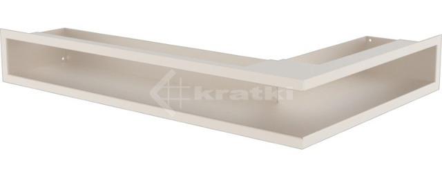 Решетка для камина Kratki Luft 45SF NL 60x40x9 кремовая (LUFT/NL/9/40/45S/K/SF)