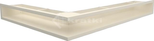 Решетка для камина Kratki Luft 45SF NP 54,7x76,6x9 кремовая (LUFT/NP/90/45S/K/SF)